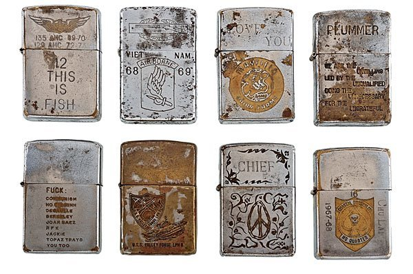 99: Vietnam Zippo Lighter Collection