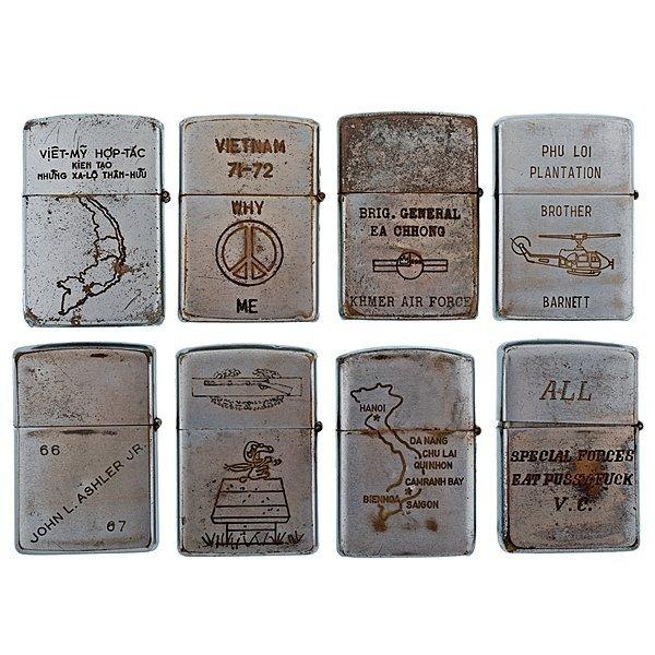 99: Vietnam Zippo Lighter Collection - 6