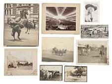 288: Buffalo Bill & Wild West Show Group of Photographs