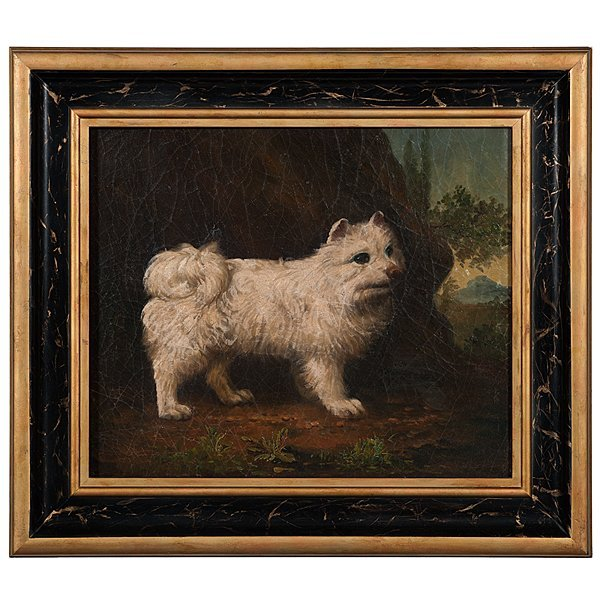 7: Naive Terrier Painting