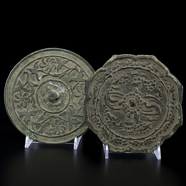 5: Chinese T'ang Period Bronze Mirrors