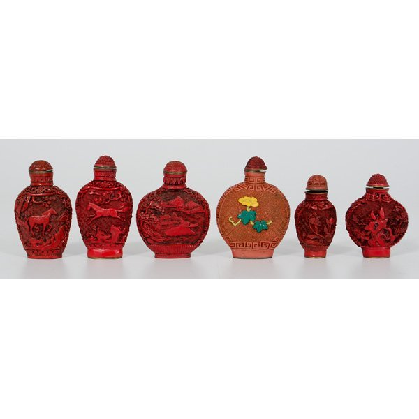1002: Assembled Group of Snuff Bottles
