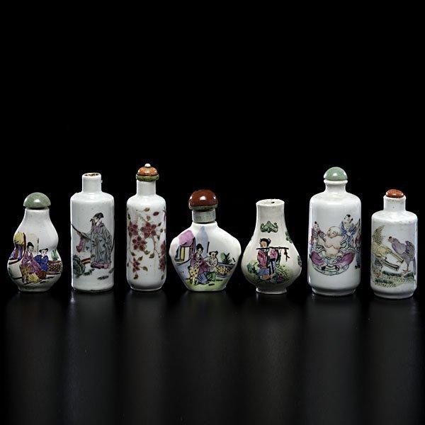 1003: Porcelain Snuff Bottles