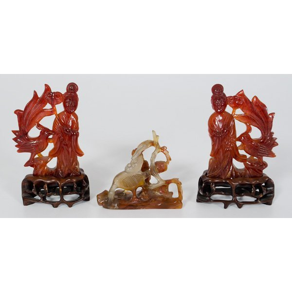 1009: Chinese Hardstone Carvings