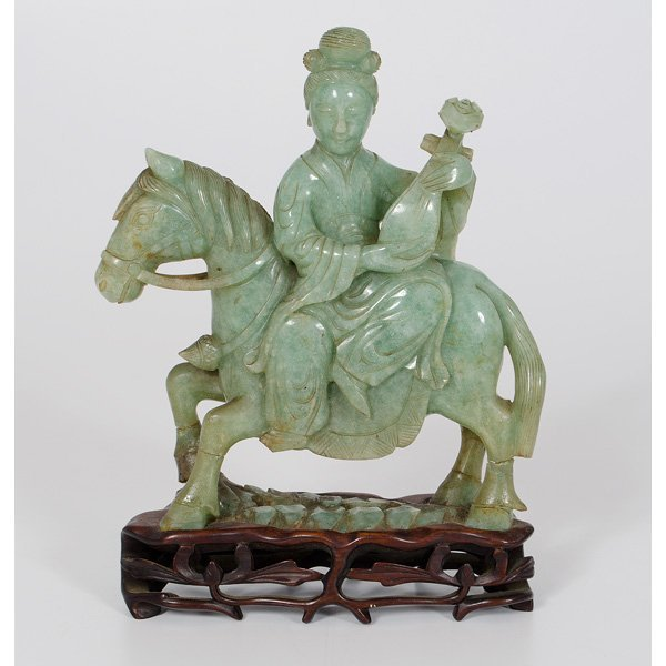 1010: Chinese Nephrite Jade Carving