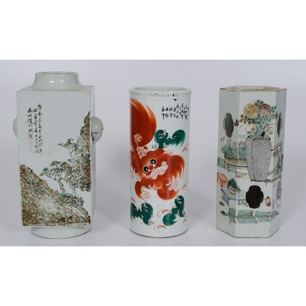 1076: Chinese Brush Pots, Plus