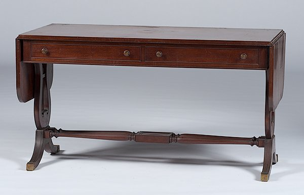 9: Regency-style Library Table