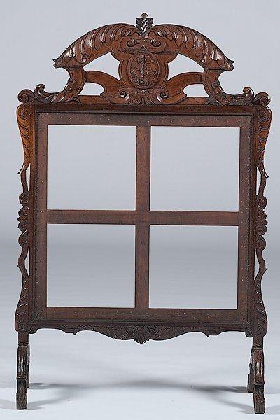 13: English Oak Firescreen