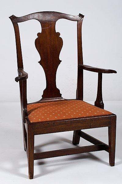 19: Vernacular Chippendale Armchair