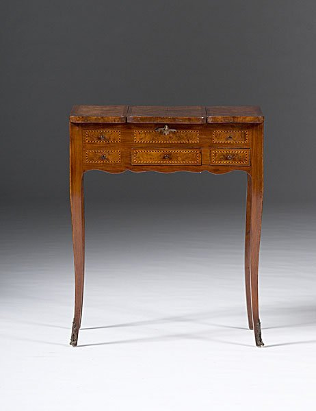 20: Louis XV-style Dressing Table