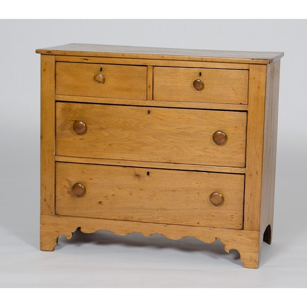 23: Butternut Chest of Drawers