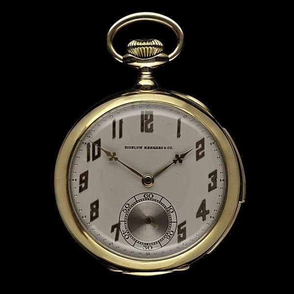 340: 18k Gentleman's Pocket Watchwith Repeater