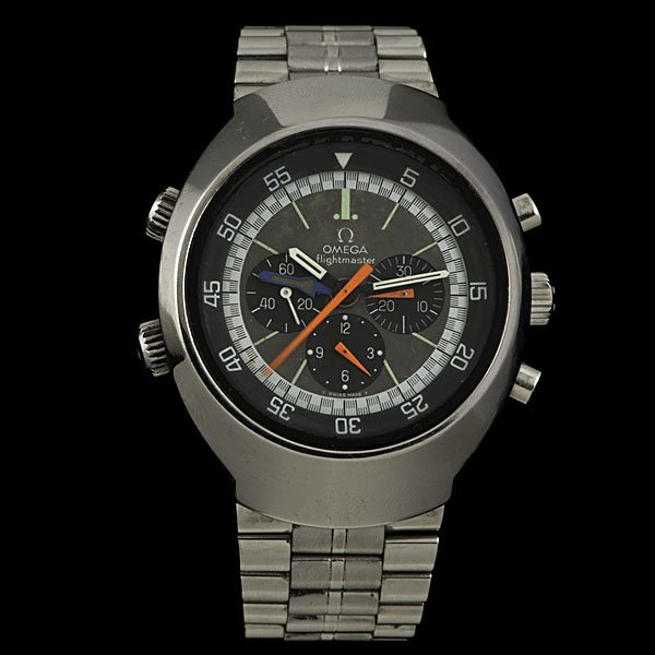 349: Omega Flightmaster Chronograph Watch