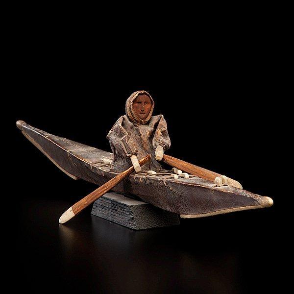 3: Eskimo Model Kayak