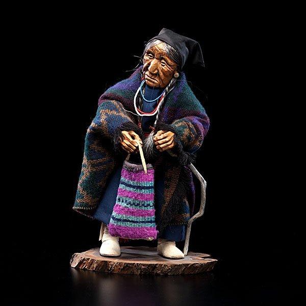 10: Shona Hah Kwakwaka'wakw Carving of a Nez Perce Woma