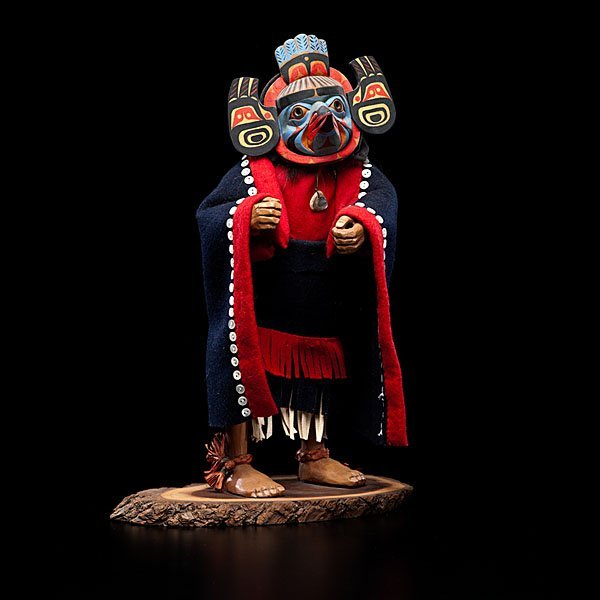 13: Shona Hah Kwakwaka'wakw Carving of a Shaman