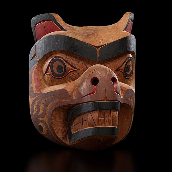 15: Tony Hunt Jr. Kwakwaka'wakw Carved Mask Kwagiulth B