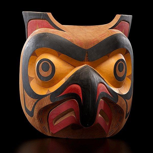17: Tony Hunt Jr. Kwakwaka'wakw Carved Mask Kwagiulth O
