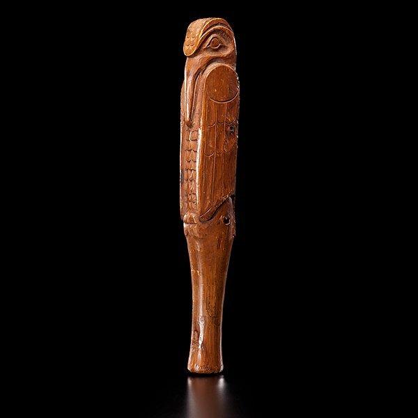 24: Tlingit Figural Halibut Club