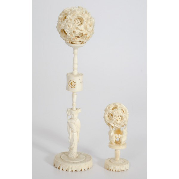 3: Chinese Ivory Puzzle Balls