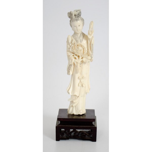 4: Chinese Carved Ivory Guanyin