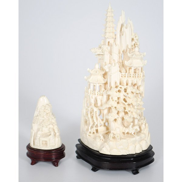 24: Chinese Carved Ivory Towers