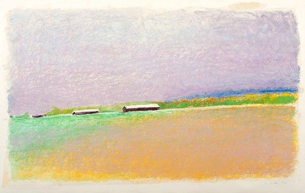 7: Expressionist Landscape by Wolf Kahn