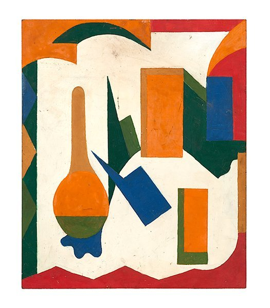 11: Abstract Work by Cincinnati Modernist Arthur Helwig