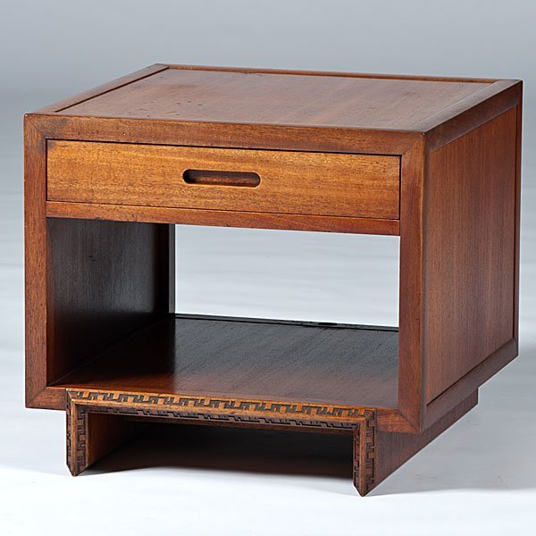 18: Frank Lloyd Wright End Table