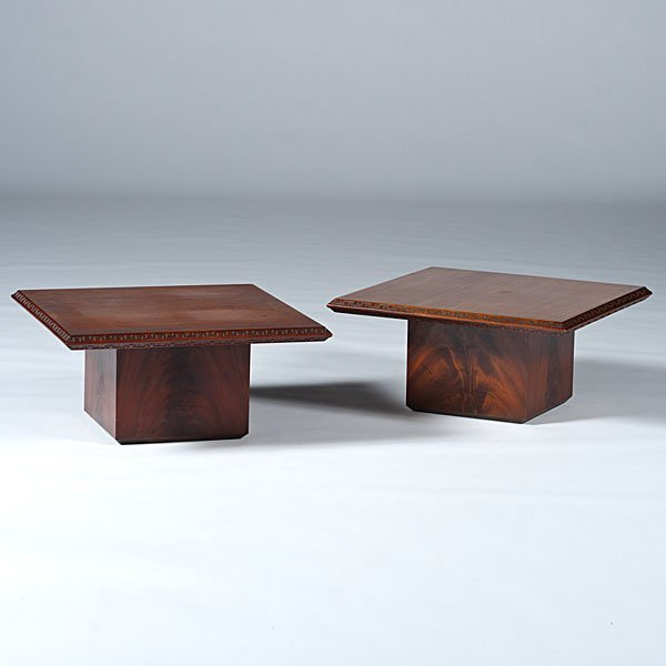 20: Frank Lloyd Wright Tables