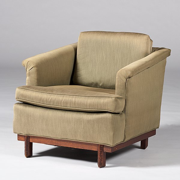 22: Frank Lloyd Wright Club Chair