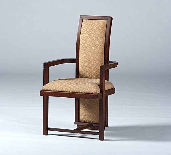 24: Frank Lloyd Wright Chair