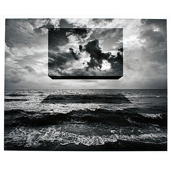 108: Untitled (Box of Sky) by Jerry Uelsmann