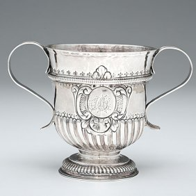 1: George I Sterling Two-Handled Cup