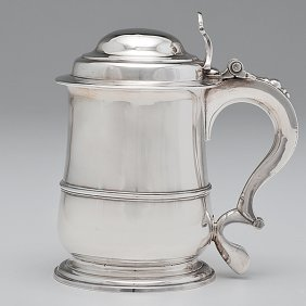 George II Sterling Tankard�