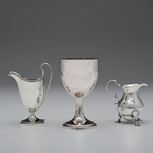 6: An Assortment of English Sterling by the Bateman Fam