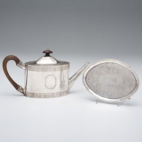 Regency Teapot And Undertray�