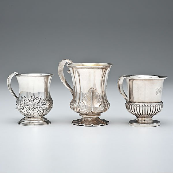 16: Anglo-Indian Sterling Children's Cups