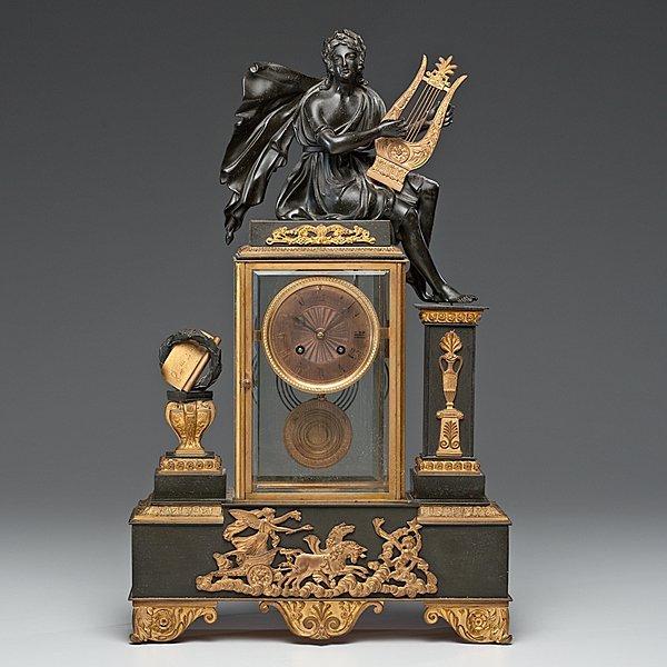 339: French Mantel Clock