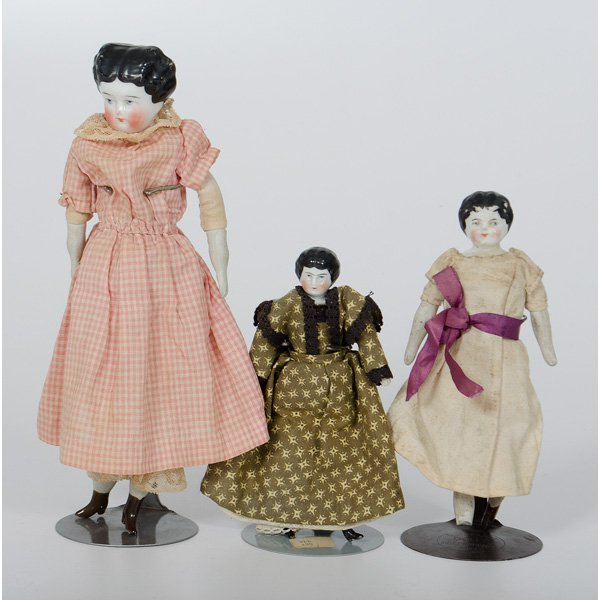 1: Porcelain Head Dolls