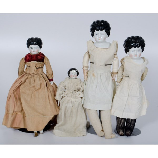 3: Dolls with Porcelain Heads