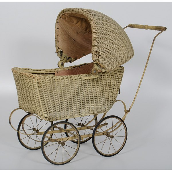4: Wicker Doll Stroller
