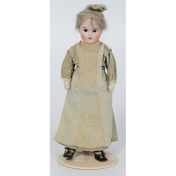 9: German Bisque Doll