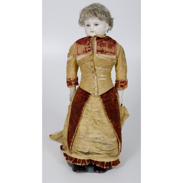 10: German ABG Bisque Doll