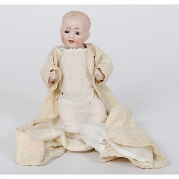 15: German Bisque Doll