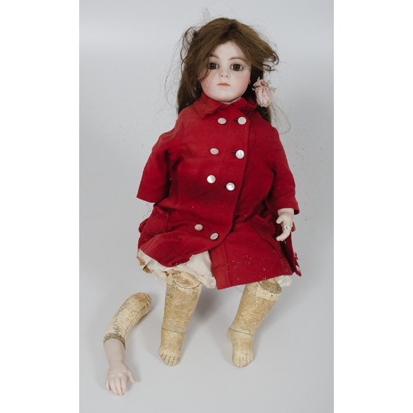17: French Bru Bisque Doll