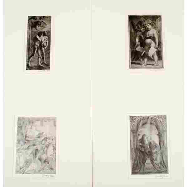 Wood Engravings by Timothy Cole