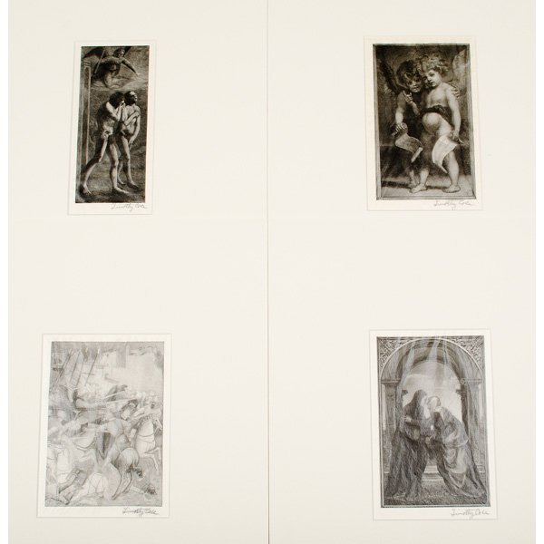 220: Wood Engravings by Timothy Cole