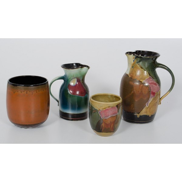 249: Collection of Vigland Pottery - 2