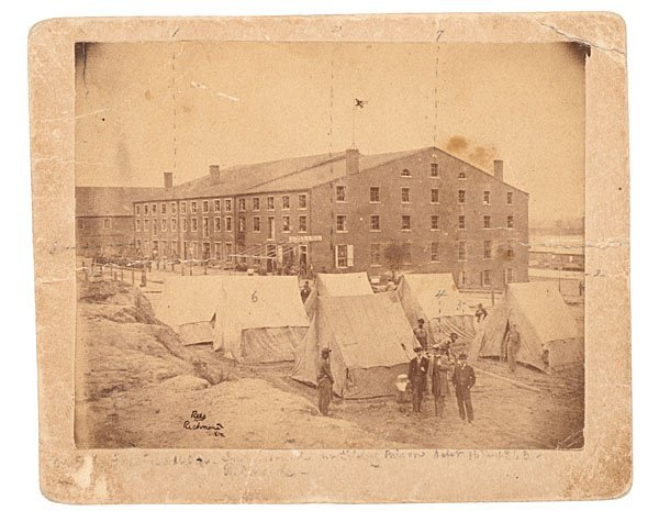 24: Libby Prison Photo Captioned by POW Acting Master